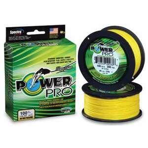 Power pro rybářská šąňůra SH PP 135/0,08/4kg Yellow