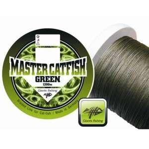 Splétaná šąňůra Giants Fishing Master Catfish Green