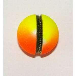 Čihátko před špičku na suchý zip žlutočervené průměr čihátka: 26mm