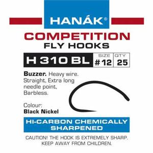 Muškařské háčky Hanák H 310 BL 25ks velikost: 8