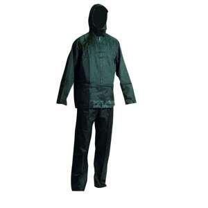 Nepromokavý oblek Carina For Job  zelený  velikost: XL