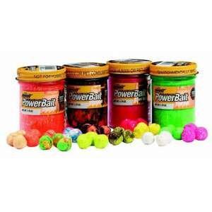 Těsto Berkley na pstruhy (Gliter Trout Bait) 50g  barva -příchuť: 8 - česnek