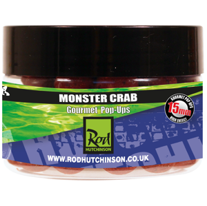 Rod Hutchinson Pop Ups Monster Crab with Shellfish Sense Appeal 15 mm