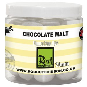 Rod Hutchinson Fluoro Pop Ups 20mm aroma: Chocolate malt with Reg. Sense Appeal