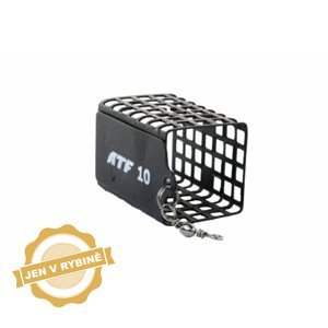 ATF Feederové krmítko hranaté s obratlíkem velké 5 - 120g hmotnost: 25g