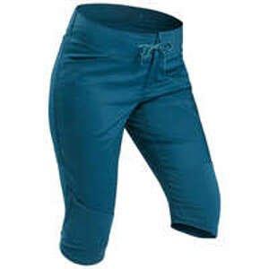 QUECHUA 3/4 kalhoty NH 500 modré