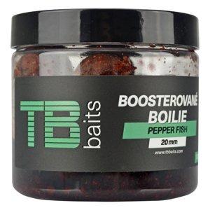 Tb baits boosterované boilie pepper fish 120 g - 16 mm