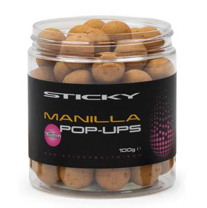 Sticky baits plovoucí boilies manilla pop-ups 100 g - 14 mm