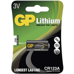 Gp batteries lithiová baterie gp cr123a