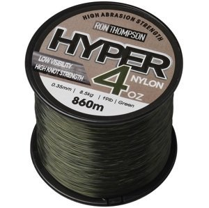 Ron thompson vlasec hyper 4oz nylon green - 1200 m 0,30 mm 6,8 kg