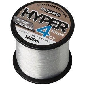 Ron thompson vlasec hyper 4oz nylon clear - 1600 m 0,25 mm 5,4 kg