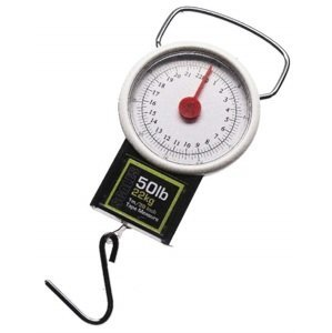 Angling pursuits váha s metrem small scales with tape measure