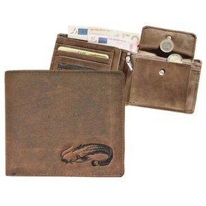 Kožená rybářská peněženka 40 - sumec