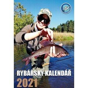 Črs nástěnný rybářský kalendář na rok 2021