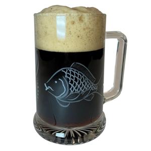 Bohemia glass sklenice na pivo kapr 0,5 l