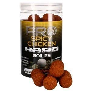 Starbaits boilie pro spicy chicken hard 200 g - 20 mm