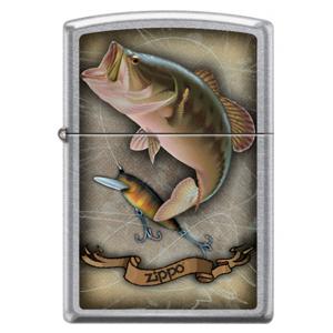 Zippo benzínový zapalovač fish hoke and rope 22102