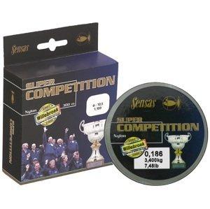 Sensas vlasec super competition 50 m - 0,186 mm 3,4 kg