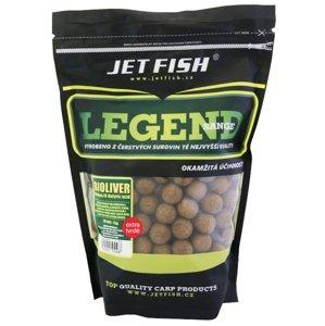Jet fish extra tvrdé boilie legend range bioliver-ananas/n-butyric - 30 mm 250 g