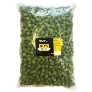 Carpway pelety řepkové zelené s dírou 12 mm 10 kg