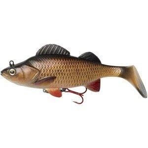 Dam gumová nástraha effzett natural perch paddle tail chub - 14 cm 47 g