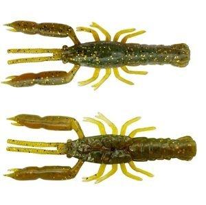 Savage gear gumová nástraha 3d crayfish rattling motor oil uv 8 ks - 6,7 cm 2,9 g