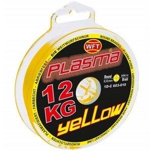 Wft šňůra kg plasma round žlutá 150 m - 0,18 mm 22 kg