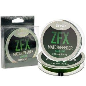 Zfish vlasec zfx match feeder camoline 150 m - 0,23 mm 6,9 kg