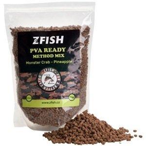 Zfish mikropeletky pva ready method feeder mix 2-3 mm 1 kg - monster crab pineapple