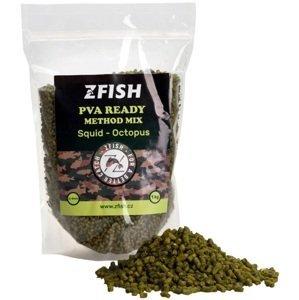 Zfish mikropeletky pva ready method feeder mix 2-3 mm 1 kg - squid octopus