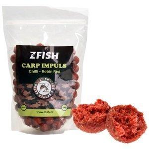 Zfish boilie carp impuls 20 mm 1 kg - chilli robin red
