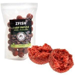 Zfish boilie carp impuls 20 mm chilli robin red - 250 g