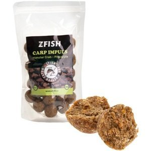 Zfish boilie carp impuls monster crab pineapple - 250 g 20 mm