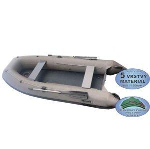 Sportex člun shelf s kýlem a pevnou nafukovací podlahou šedý 330