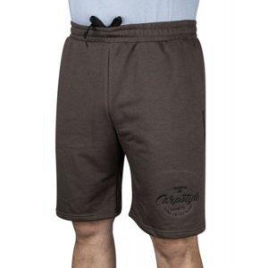 Carpstyle kraťasy brown forest shorts - velikost l