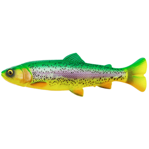 Savage gear gumová nástraha 4d linethru pulsetail trout slow sink firetrout - 16 cm 51 g