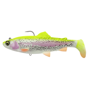 Savage gear gumová nástraha 4d rattle shad trout sinking lemon trout - 12,5 cm 35 g