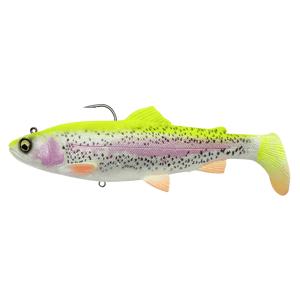 Savage gear gumová nástraha 4d rattle shad trout sinking lemon trout - 17 cm 80 g