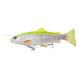 Savage gear gumová nástraha 4d linethru trout slow sinking lemon trout - 15 cm 35 g