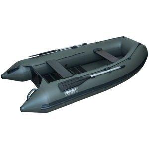 Sportex nafukovací čluny shelf 330f lamelová podlaha s úchyty fasten zelený 2x lavička