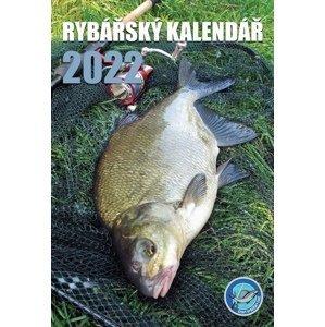 Črs nástěnný rybářský kalendář na rok 2022