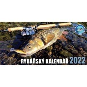 Črs stolní rybářský kalendář na rok 2022