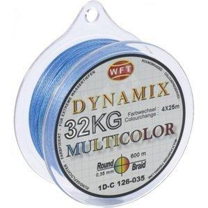 Wft splétaná šňůra round dynamix kg multicolor - 300 m 0,10 mm 10 kg