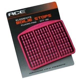 Ace zarážky boilie stops fluoro pink 180 ks