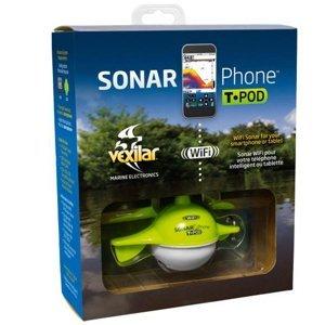 Vexilar nahazovací sonar sp100 sonarphone wifi