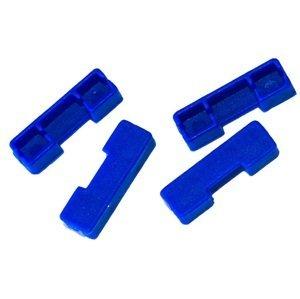 Matrix vložky pro kostřičky winder colour indicators dark blue tmavě modrá 4 ks