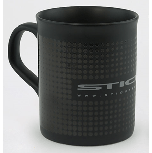 Sticky baits hrnek matte black mug 340 ml
