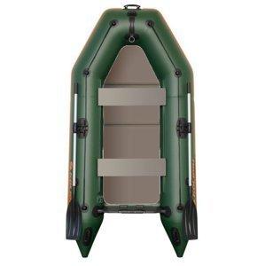 Kolibri člun km-280 p zelený pevná podlaha