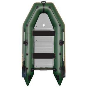 Kolibri člun km-300 d zelený hliníková podlaha