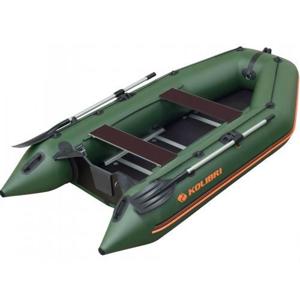 Kolibri člun km-330 d zelený vystužená podlaha